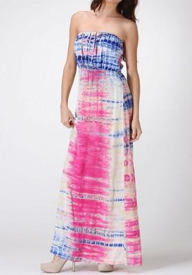 leopard print maxi dress
