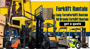 Forklift Rentals San Francisco