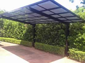 outdoor shade sails